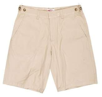 Prada Sport Flat Front Chino Shorts