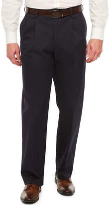 Savane Straight Fit Pleated Pants