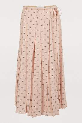 f22dc688cf Long Pleated Skirt - ShopStyle UK