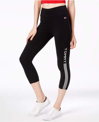 Tommy Hilfiger Cropped Logo Leggings, Created for Macy's