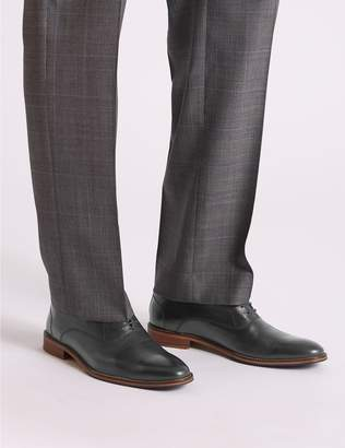 Marks and Spencer Leather Layered Derby Shoes
