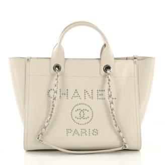 f930f078d4cc Chanel Deauville White Leather Handbag