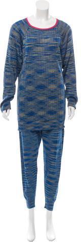 MissoniM Missoni Knit Pajama Set