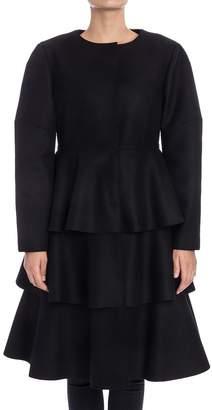 Alberta Ferretti Wool Blend Coat