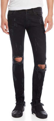 Palm Angels Track Skinny Fit Jeans