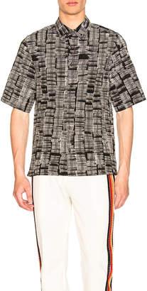 Wales Bonner Creased Short Sleeve Shirt