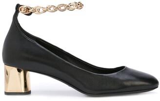 Stella Luna chain strap pumps