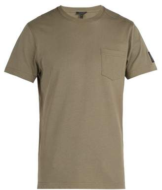 Belstaff New Thom Pocket Crew Neck Cotton T Shirt - Mens - Green