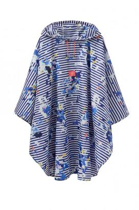 Joules Printed Showerproof Poncho $48.99 thestylecure.com