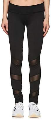 Electric Yoga WOMEN'S MESH-INSET LEGGINGS - BLACK SIZE L