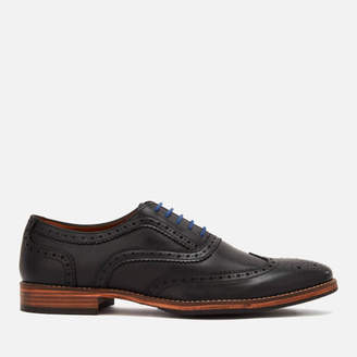Kurt Geiger London Men's Raymond Leather Brogues - Black