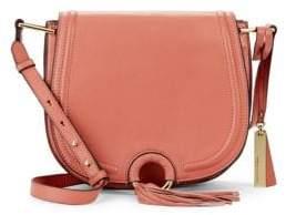 Vince Camuto Magnetic Leather Shoulder Bag