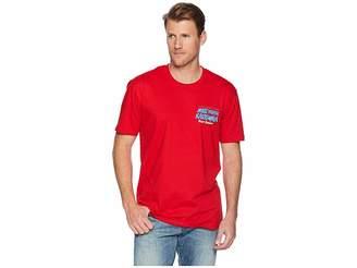 Reyn Spooner Surfboard Santa Short Sleeve T-Shirt