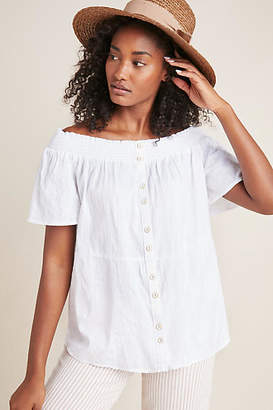 1f9b309e052 Anthropologie Lucille Off-The-Shoulder Blouse