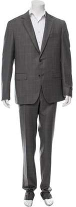 Pal Zileri Wool Two-Piece Suit w/ Tags grey Wool Two-Piece Suit w/ Tags