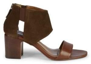 Aquatalia Enid Back-Zip Sandals