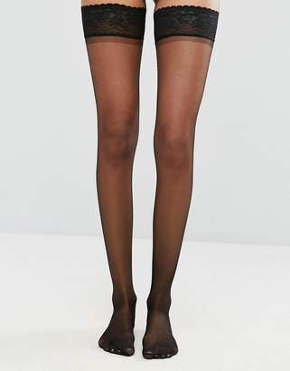 Asos Design DESIGN 15 denier lace top stockings