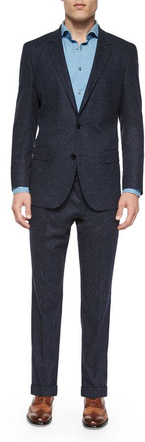Hugo BossBoss Hugo Boss Donegal Two-Piece Wool Suit, Navy