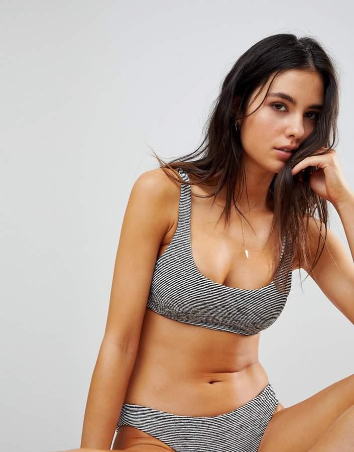 Stripe Bikini Top