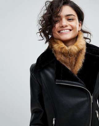 Asos DESIGN Faux Fur Snood