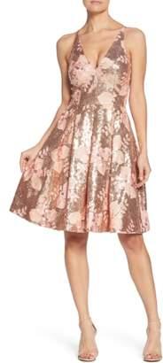 Dress the Population Collette Sequin Fit & Flare Dress
