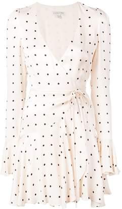 Shona Joy O'Dell wrap mini dress