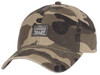 Levi's Camouflage Cotton Baseball Cap