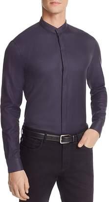 Armani Collezioni Subtle Check Classic Fit Button-Down Shirt