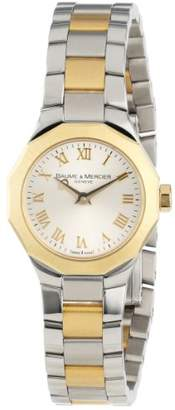 Baume & Mercier Women's 8762 Riviera XS Two-Tone Dial Watch