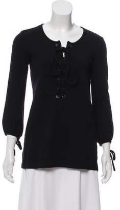 Etoile Isabel Marant Long Sleeve Wool Sweater