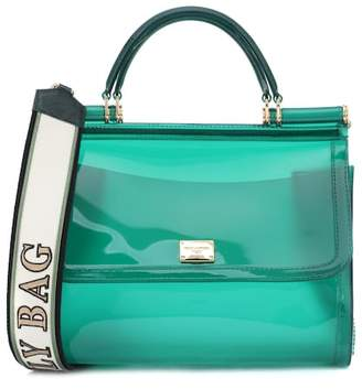 Dolce & Gabbana Transparent Sicily shoulder bag