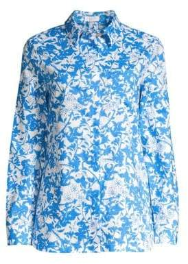 Escada Sport Floral Cotton Blouse