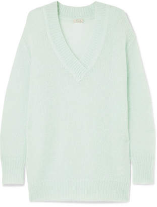 Temperley London Iron Mohair-blend Sweater - Mint