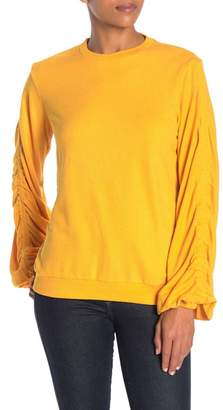 The Fifth Label Frisbee Ruched Sleeve Pullover