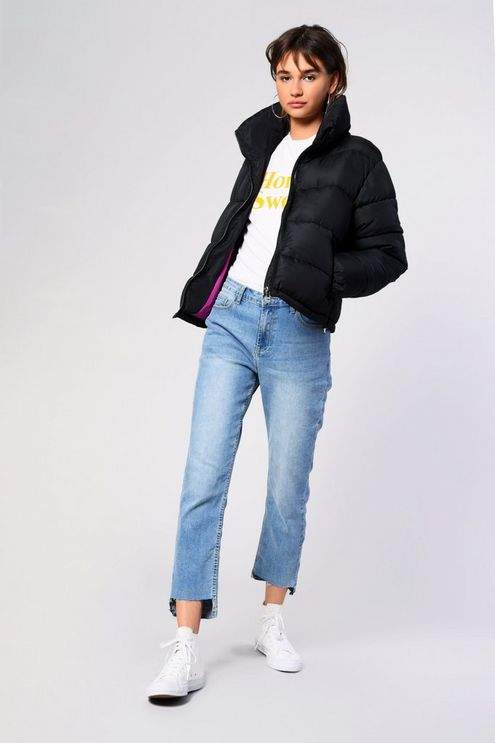**Padded Puffer Jacket by Tall