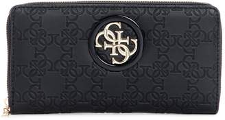 GUESS Logo Zip Wallet
