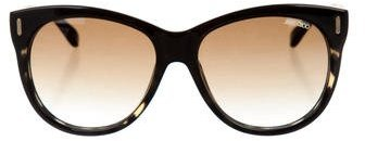 Jimmy ChooJimmy Choo Tinted Oversize Sunglasses