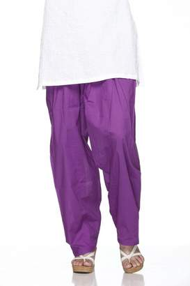 Ladyline Cotton Plain Indian Salwar Pants in Several Colour - Kameez Yoga Dress