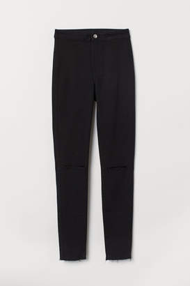 H&M Super Skinny Ankle Jeggings - Black