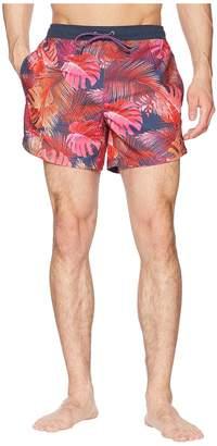 HUGO BOSS Mondrian Fish Swim Trunk Men's Swimwear