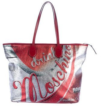 Moschino Moschino Couture Coca Cola Shopper Tote