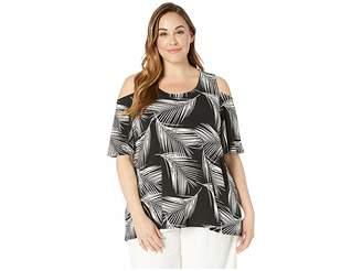 0485fb6e75d8ff Karen Kane Plus Plus Size Cold Shoulder Top