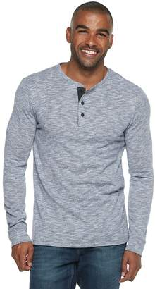 Marc Anthony Men's Slim-Fit Slubbed Sweater Henley