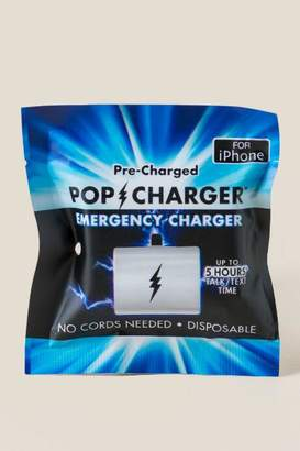 iPhone Pre-Charged Disposable Charger