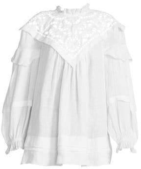 Isabel Marant Women's Galia Dress - White - Size 34 (00)