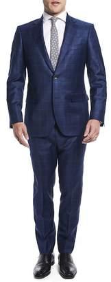Nordstrom Strong Suit by Ilaria Urbinati Kilgore Slim Fit Plaid Wool Suit Exclusive)