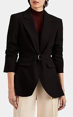 Chloé Women's Cady Belted Blazer - Black