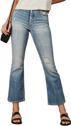 Brady Boyish Jeans The Super High Waist Crop Flare Jeans