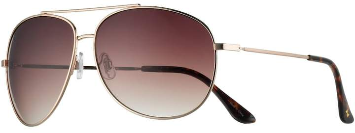LC Lauren Conrad Women's LC Lauren Conrad Oversized Aviator Sunglasses