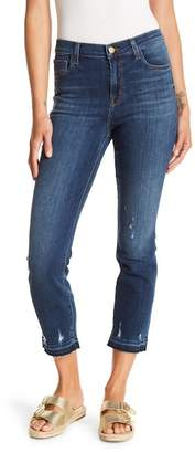 J Brand Ruby High Rise Crop Cigarette Skinny Jeans